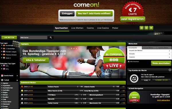 comeon-homepage